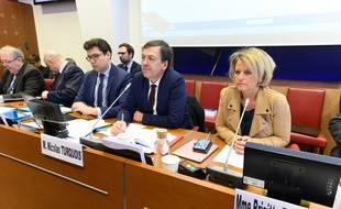 La présidente de la commission sur les retraites de l'Assemblée, Brigitte Bourguignon, le 10 février 2020.
