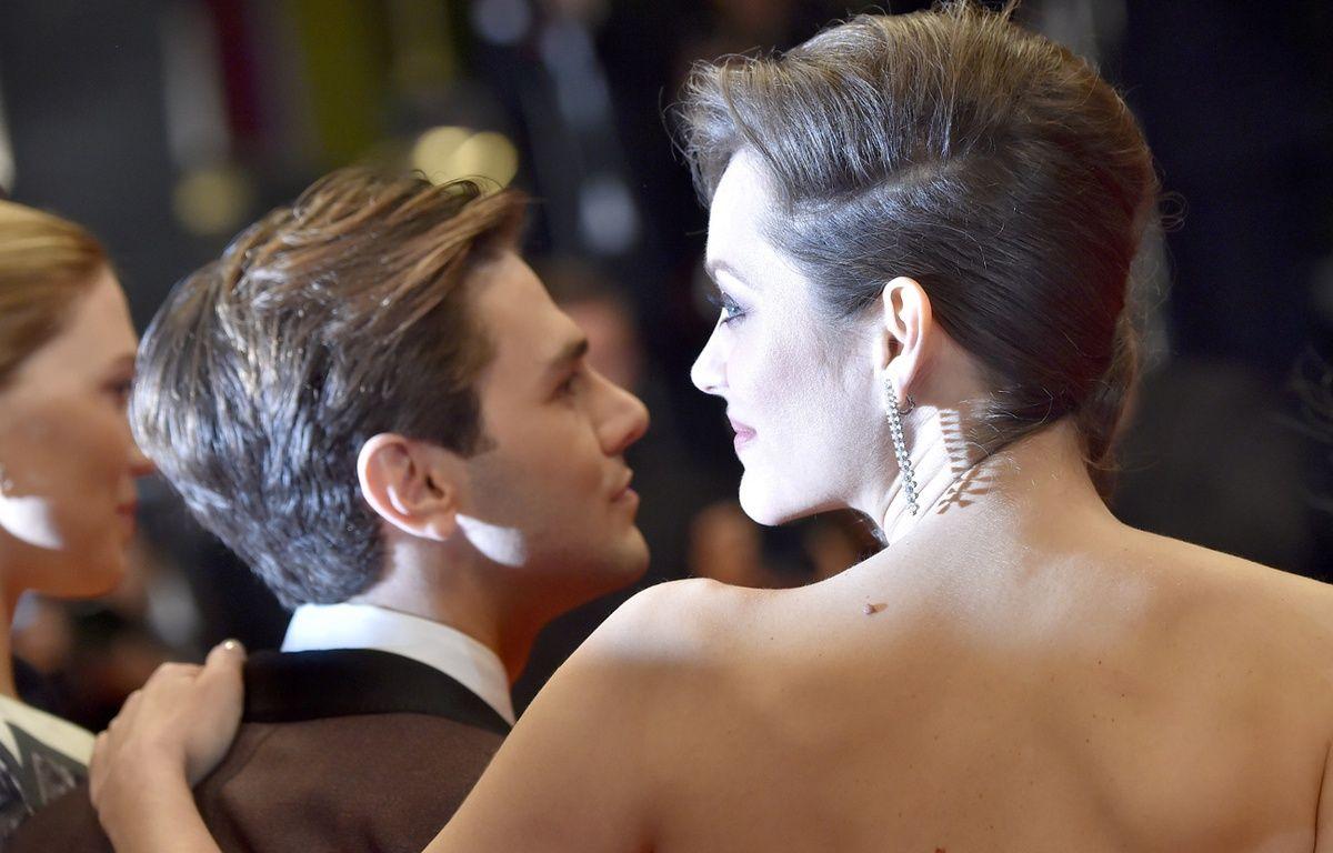 Marion Cotillard et Xavier Dolan , le 19 mai 2016 à Cannes – LOIC VENANCE / AFP