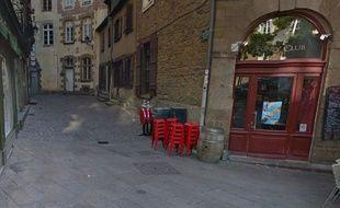 L'allée Rallier du Baty à Rennes.
