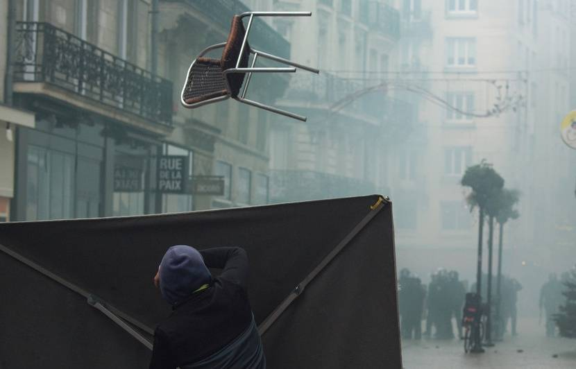 Nantes : Le centre-ville se réveille groggy après les violences de samedi