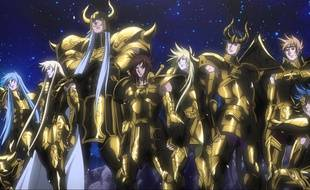 Saint Seiya The lost Canvas d'Osamu Nabeshima