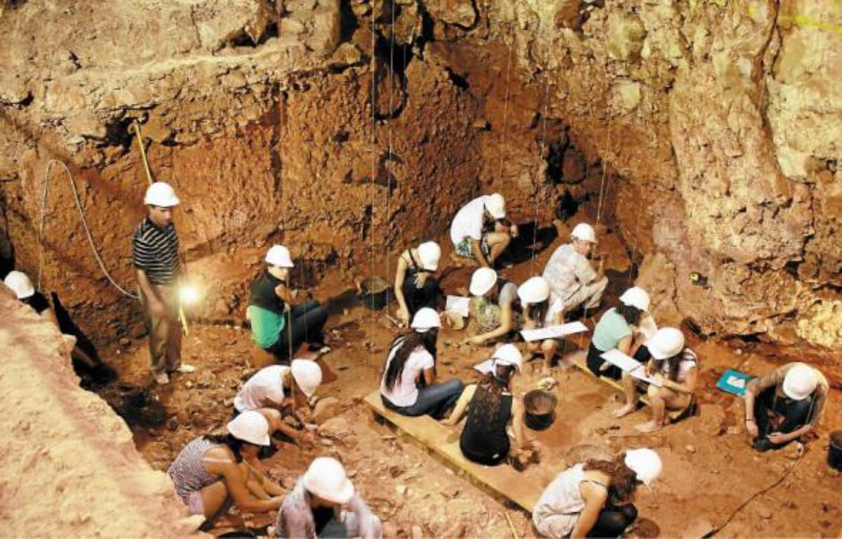 A Nice, le chantier archéologique de la grotte du Lazaret ouvre ses portes tout le week-end. –  A. SELVI / ARCHIVES ANP / 20 MINUTES