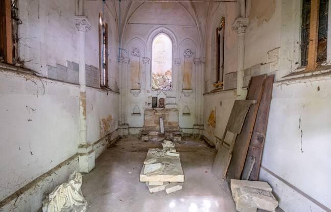 D'importants travaux sont à prévoir à l'intérieur de la chapelle qui est assez dégradée.