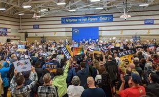 Pete Buttigieg en meeting dans le Nevada, le 21 février 2020.