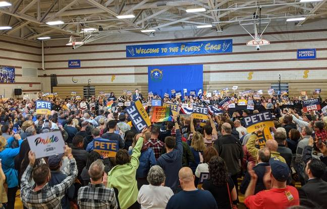 Primaire démocrate: Malgré des supporteurs enthousiastes, Pete Buttigieg montre ses limites dans le Nevada
