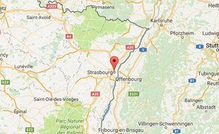 Un juif religieux blessé après une attaque au couteau à Strasbourg.