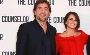 Javier Bardem et Penélope Cruz le 5 octobre 2013 à Londres, pour la première du film «The Counselor».