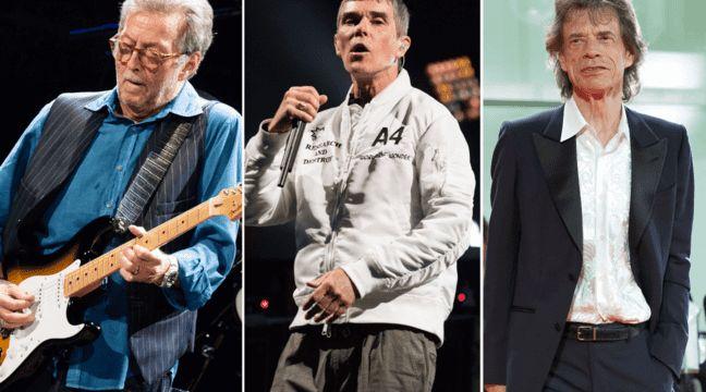 Coronavirus : D'Eric Clapton à Mick Jagger, le vaccin anti Covid-19 divise aussi les rockers