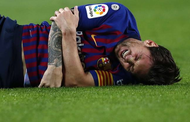 FC Barcelone: Lionel Messi se fracture le bras et manquera le clasico contre le Real Madrid