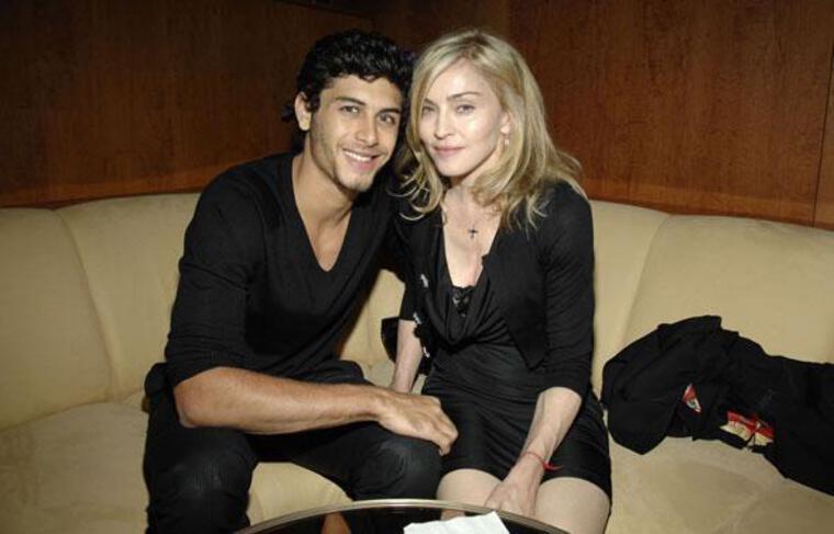 Madonna et Jesus Luz à New York, le 12 septembre 2009.