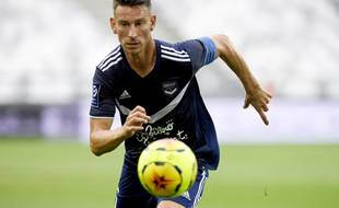 Laurent Koscielny, le capitaine des Girondins de Bordeaux.