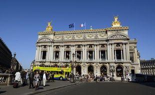 Le Palais Garnier, à Paris.