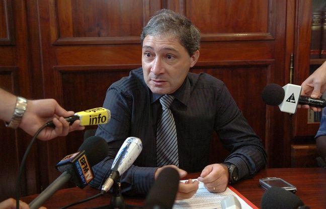 Jean-Michel Prêtre, l'actuel procureur de Nice. (Photo prise en 2009)
