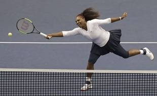 Serena Williams a fait son retour sur les courts ce week-end en Fed Cup.