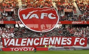 Les supporters de Valenciennes au stade du Hainaut.