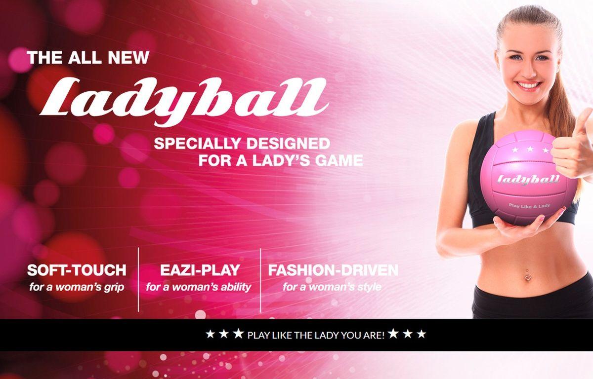 Capture d'écran du site Ladyball. – DR