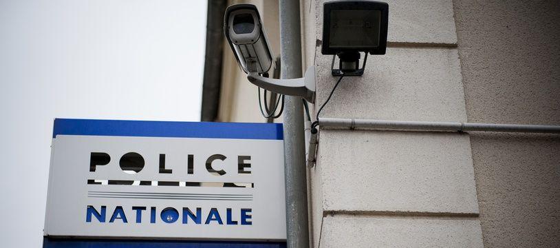 Illustration d'un bâtiment de police.  // Photo : V. WARTNER / 20 MINUTES
