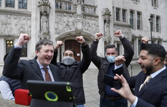 648x415 chauffeurs uber britanniques reagissent annonce decision justice reconnaissant statut travailleur salarie 19 fevrier 2021