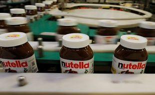 Photo de l'usine de production de Nutella à Villers-Ecalles, en Seine-Maritime.