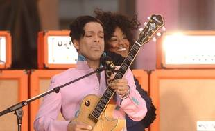 Le chanteur Prince à New York en 2006