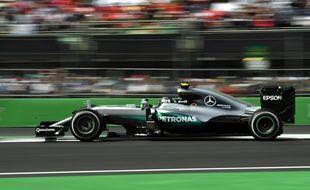 Une Formule 1 au Mexique.