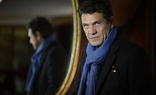 Le chanteur, acteur et désormais écrivain Marc Lavoine, le 9 janvier 2015.