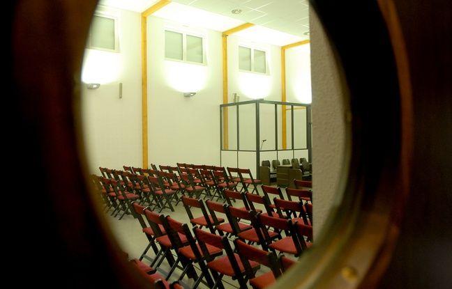 Illustration justice. Tribunal place d'Islande à Strasbourg. Le 29 01 07