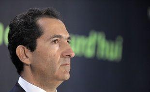 Patrick Drahi, patron d'Altice qui a racheté Libération et est désormais la 3e fortune de France.