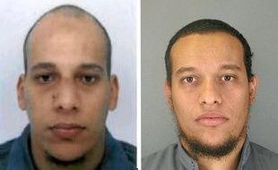 Les frères Chérif et Saïd Kouachi, auteur de l'attaque contre Charlie Hebdo en janvier2015.