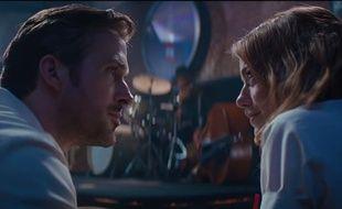 Ryan Gosling et Emma Stone dans «La La Land».