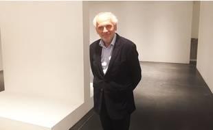 Norbert Fradin, l'homme d'affaires bordelais, s'explique le 5 juin 2018 sur l'annulation de l'exposition Monet au musée Mer Marine de Bordeaux.