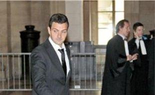 Jérôme Kerviel, hier au Palais de Justice.