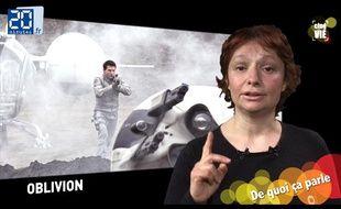 Caroline Vié, critique ciné de 20 Minutes, décrypte «Oblivion»