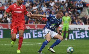 Petar Skuletic a obtenu et... raté un penalty à Strasbourg dimanche.