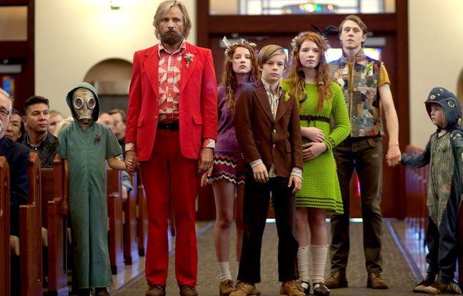 Viggo Mortensen et les enfants de Captain Fantastic de Matt Ross