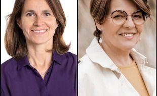 La liste d'aAurélie Filippetti (à gauche) ne fusionnera pas avec celle d'Eliane Romani (à droite).