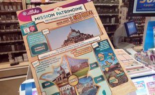 Un ticket de Mission patrimoine (illustration).