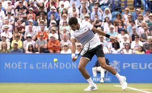 Novak Djokovic à Eastbourne, le 1er juillet 2017
