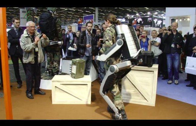 L'exosquelette Hercule à l'Eurosaty 2012