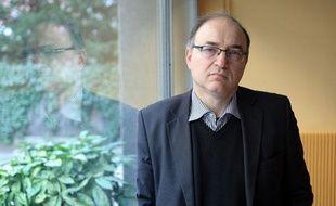 Salvatore Saguès, expert Afrique de l'Ouest pour Amnesty International, à Paris, le 21 fevrier 2012.