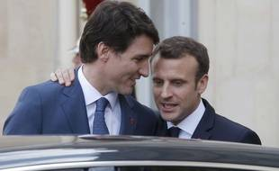 Le Premier ministre canadien Justin Trudeau entame lundi une visite officielle en France par un entretien avec le président Emmanuel Macron