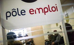 Une agence de Pôle Emploi en banlieue parisienne