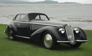 Une Alfa Romeo 8C 2900B Berlinetta, construite en 1938 (illustration).