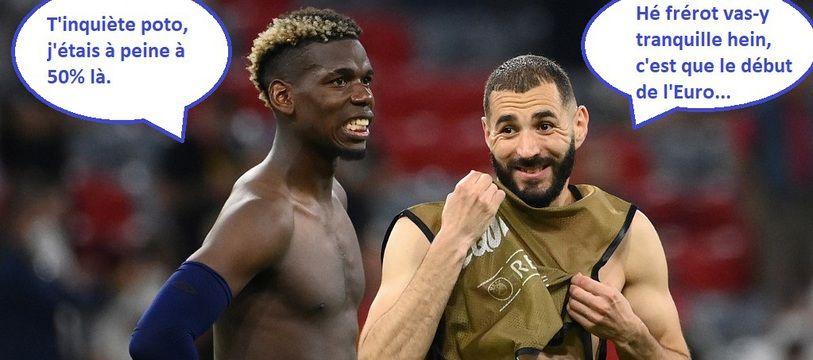 Pogba a été élu homme du match mardi soir contre l'Allemagne.