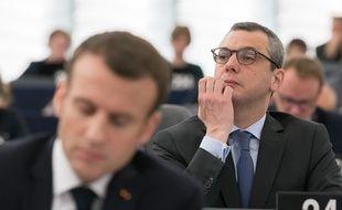 Emmanuel Macron et Alexis Kohler.