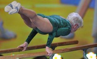 Johanna Quaas, 92 ans , a fini 5 ème du Turnfest