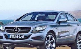 Mercedes prépare un SUV pour l'horizon 2014 afin de rivaliser avec le BMW X6