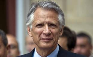 Dominique de Villepin lors de la convention nationale de son parti, République Solidaire, le 19 juin 2011, à Paris.