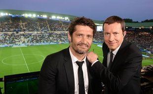 Bixente Lizarazu et Grégoire Margotton, un duo de choc pour le Mondial 2018 sur TF1.