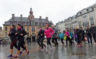 Des joggeurs à Lille ce samedi pour rendre hommage à Alexia.
